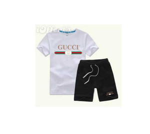 2019 HOT SELL New Style Children's Clothing For COCO Boys And Girls Sports Suit Baby Infant Short Sleeve Clothes Kids Set 2-7 T