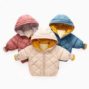 Baby Boys & Girls Coats Winter Autumn Jacket Kids Down Cotton Coat Waterproof Snowsuit Unicorn Jacket Hooded Parka Down Coats