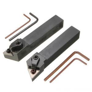 2Pcs Mtjnl1616H16 Mtjnr1616H16 Club-Making продукты Golf токарной державки 16X100Mm Для Tnmg Вставьте комплект 4 Wrench2 расточные Bar Set