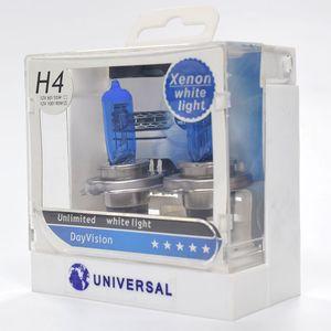 H4 12V 60 / 55W 할로겐 헤드 라이트 전구 운전 안개 전구 6000K 헤드 라이트 벌브 안개등 HID 대체 크세논 차지 기술
