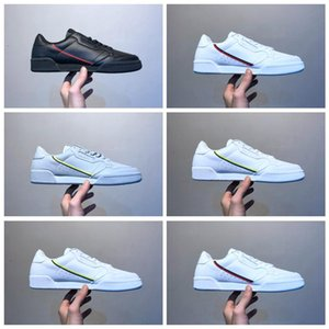 ssYEzZYYEzZYs v2 350boost ACT80A New 2018 Original Continental 80 Rascal Leather x Kanye West Running Shoes Good quality Whit