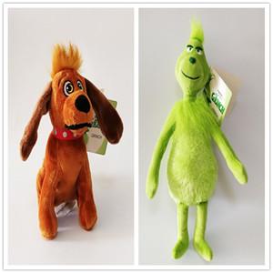 Nouveau Comment le Grinch Peluche Peluche Collection pour les enfants vacances Best 2pcs cadeaux / Lot 18-30CM