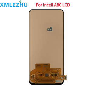 incell Display LCD para a tela Samsung Galaxy A80 A805 SM-A805F LCD touch Assembléia digitador
