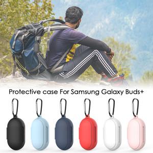 Silikon Kulaklık Kılıf için Samsung Galaxy Tomurcuklar / Tomurcuklar + Toz geçirmez Koruyucu Kablosuz Bluetooth Kulaklık Kapak Kılıf için Tomurcuklar / Tomurcuklar +