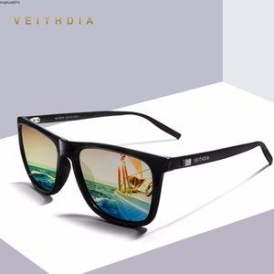 Veithdia Aluminio + Tr90 Unisex Retro Para Hombre Polarizadas Gafas Sol Espejo Diseñador Marca La Vendimia De Conducción