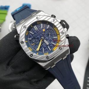 Kaliteli Lüks Erkekler İzle Nightlight İş 26703ST Otomatik Makine İzle Royal Oak Orijinal Kauçuk Watchband Su geçirmez izle
