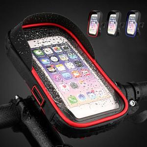 Impermeabile Moto porta cellulare Sn Touchable biciclette Moto Telefono mobile di sostegno del supporto per Moto Holder # 3