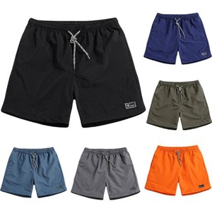 sport short pants men Lightweight casual short pants Loose Elastic Fast-drying Beach Trousers Casual Sports L0319