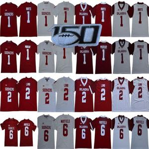 NCAA Oklahoma Sooners 1 Jalen fere o Jersey CeeDee Lamb 6 Baker Mayfield Kyler Branco Murray Kennedy Brooks Red College Football Big 12 XI