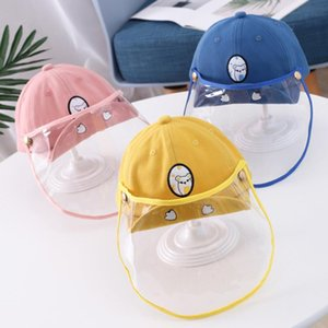 Cappello dei bambini del cappello di Sun anti-sputo cappuccio protettivo per bambini proteggere i bambini dal Saliva antipolvere copertura contro Droplet secchio cappelli