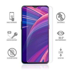 500pcs Téléphone mobile Verre trempé pour Oppo Realme X C2 C3 5S X50 5G 6I XT X2 PRO Protecteur d'écran DHL