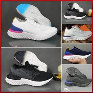Новый Best Fly эпическая реагируют Pixel 8-битовые мужские кроссовки колледжа ВМС Тройной Темно-серый Knit Дизайнерские Спорт Кроссовки WOMANS