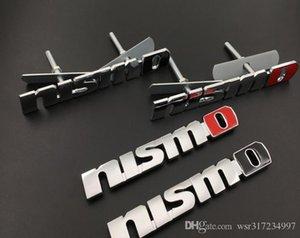 NEW Metal 3D Fashion Car Stickers Front Grill Emblem Grille Badge For Nissan Nismo Tiida Teana Qashqai Almera Juke X Trail Auto Accessories