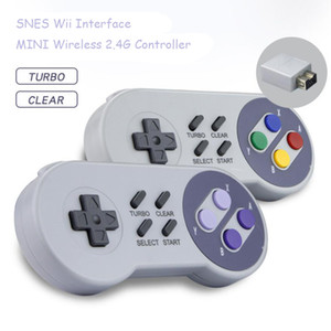 무선 게임 패드 2.4GHZ 조이스틱에 대한 NES / SNES 슈퍼 닌텐도 고전 PC 안드로이드 라즈베리 무선 USB 컨트롤러