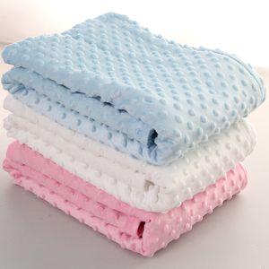Bebê Peas Blanket Sofá Blanket crianças macias de espuma mantas Tapetes saco de dormir 102 * 76cm 6 cores