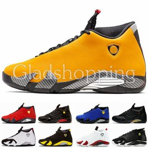 14 14s Giallo Uomo Scarpe da Basket Designer Jumpman Scarpe da ginnastica Desert Thunder Basket Michael Sports 23 Scarpe da ginnastica con Box Des Chaussures US13