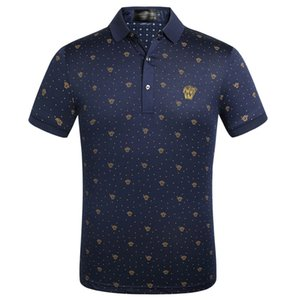 Brand Designer Summer Polo Shirt Embroidery Mens Polo T Shirts Fashion Style Shirt for Male Women High Street Top Tee42