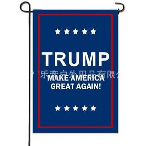 حديقة ترامب العلم رسالة إبقاء أمريكا العظمى مستطيل اثنين من مستوى الطباعة الرقمية مظلة 2020 أعلام حملة 5rbE1