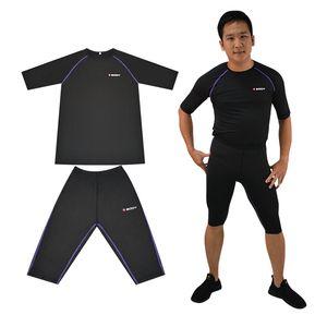 Tel Kablosuz Ems Eğitim Cihazı Ems Zayıflama Vücut Suit Miha İç İyi Kalite Boyut S, M, L, XL, XXL