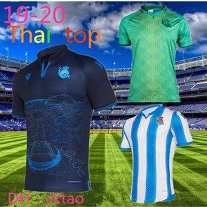 19/20 Real Sociedad ventas uniformes camiseta de fútbol 2019 Real Sociedad de Fútbol OYARZABA Shir Thome X.PRIETO CARLOS JUANMI Fútbol