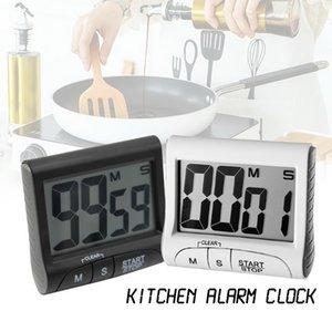 ЖК-цифровой дисплей Таймер Многофункциональный портативный кухонный таймер с функцией будильника часы обратного отсчета памяти Готовим Таймер
