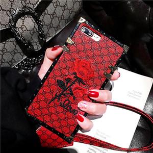 Дизайн фирменный розовый чехол для телефона iPhoneXR x s Max 6S 7 8 plus