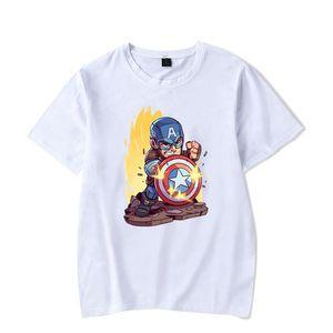 Style de Tshi Fashion Designer pour hommes et femmes T-shirts Cartoon Plain White T-shirt Imprimer populaire les jeunes