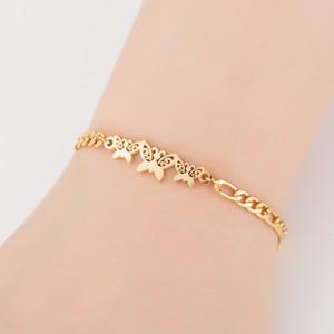 결혼 기념일 발렌타인 데이 여성의 선물 쥬얼리 선물에 대한 Bowknot Charm Bracelets Women 's Day