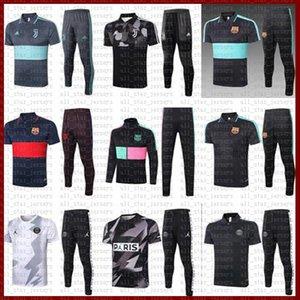 PSG Paris SaintGermain Fútbol Establece uniforme Barcelona, Juventus Chaqueta Entrenamiento RONALDO # 7 # 10 MESSI 7 Mbappé fútbol jerseys