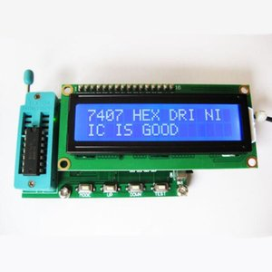 New version of integrated circuit tester   IC tester   74, 40 series   can determine the logic gate is good or bad