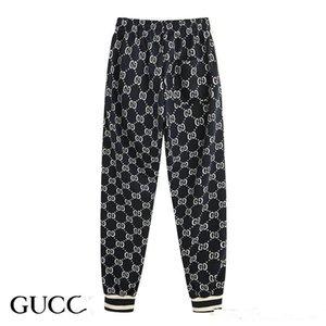 Gucci TascheSportswear  jaqueta sportswear terno de beisebol da forma dos homens de esportes novo casal zipper calças terno senhoras esportivos de luxo calças S-2XL