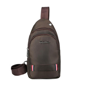 2019 Comercio al por mayor Hombres un hombro inclinado bolsa Ocio bolsa Oxford tela Mujeres bolsa móvil Gran capacidad SportOutdoor Packs Day Packs Z06