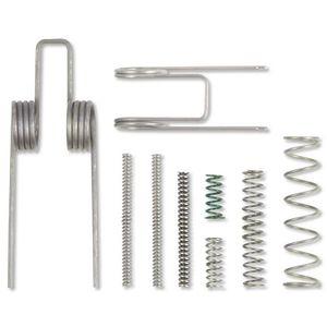 Magorui السفلى أجزاء كيت الميكانيكية الربيع 50x18x13.0 ملليمتر 9 قطع داخلي ar15 نطاق مستهلكات استبدال الحديد الرماية المدى