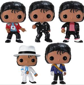 Funko POP Michael Jackson El yapımı süs modeli bebek Billie Jean Askeri # 22 23 24 25 26 PVC bebek hediyeleri oyuncak