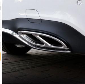 Sorties d'échappement de la gorge en acier inoxydable Sorties d'échappement de cadavre pour Mercedes Benz W213 W205 Coupe W246 W216 W177 GLC GLS GLS CLA