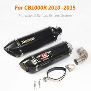 تعديل CB1000R 2010 ~ 2015 سنة دراجة نارية exhuast 1000cc دراجة نارية akrapovic كاتم الصوت يوشيمورا أنابيب العادم