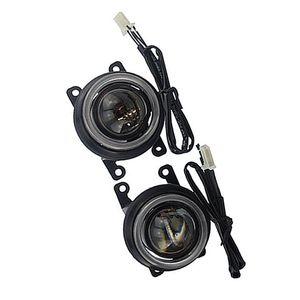 LED Halogen hid H16 H8 bulb spotlight High Low Beam Front bumper fog light lens holder assembly for RENAULT KADJAR 2015 2018