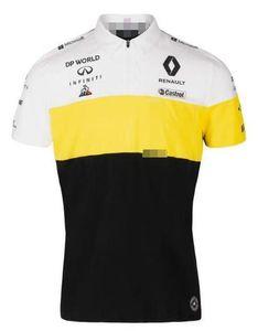Formula 1 Renault Renault F1 Team 2020 kısa kollu Fransız horoz