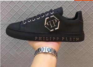 Мужская высококачественная кожа pp череп мужская повседневная обувь мужская спортивная обувь-604