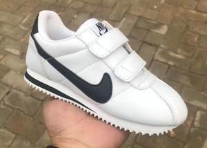 Sıcak Satış tasarımcı marka Çocuk Rahat Spor Ayakkabı Erkek Ve Kız Sneakers çocuk Tek kanca moda marka Koşu Ayakkabıları