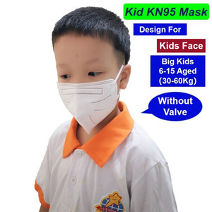 6-15 Di età compresa tra i bambini grandi elementare Scuola primaria monouso Maschera PM2.5 polvere maschera di protezione della mascherina protettiva DHL UPS arrivo