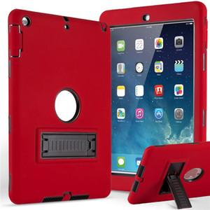 caso a prueba de golpes impermeable defensa militar extrema Forro protector para el aire iPad iPad 5 mini123 nueva ipad9.7 2017 2018 universal