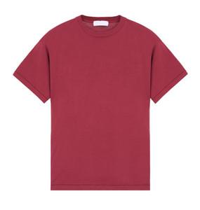 19SS Европа сплошной цвет с коротким рукавом ретро Tide Street Удобная повседневная Tee мужчины и женщины пара 5 Цвет футболки HFKYTX014