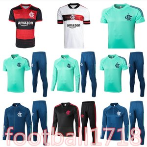 2020 21 Survêtement football Flamengo DE ARRASCAETA GABRIEL Barbosa veste survêtement de football Gerson B.HENRIQUE Flamengo maillot Polo