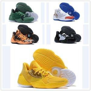 Nike Shoes أحذية تتصلب المجلد 4 رجال لكرة السلة الوردي عصير الليمون كاندي الطلاء الأخضر كامو القرمزي الغناء 1.4 الأخضر الملكي زرقاء لامعة BHM حذاء رياضة