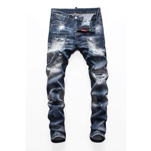 2020 Luxus-Designer-Hose fest klassisches Diesel-Auto Platz Jeans Männer Designer-Jeans für Männer lila Markenjeans Luxus-Hose
