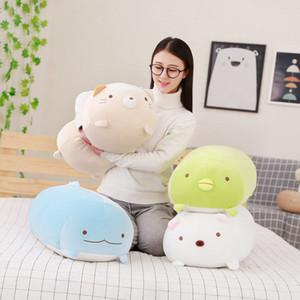 Новый 60 см японский белый медведь супер мягкие плюшевые игрушки San-x угловой био мультфильм милый ребенок подушка диван спальня подушка кукла