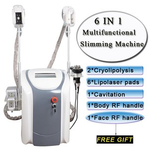Cryolipolysis la machine gel de graisse LipoLaser usage personnel cryothérapie laser lipo machine de beauté de RF cavitation par ultrasons
