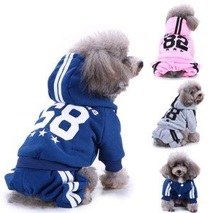 Pet Sports Clothes Puppy Hoodie Sweater Dog Coat Warm Sweatshirt 82 Printed Outfits Hooed Sweatshirt Hoody