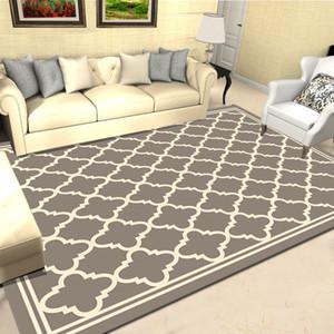 Скандинавский стиль геометрический 3D печатный ковер большой размер высокое качество домашний коврик Современная гостиная ковер сгущает салон ковры Арт-Декор